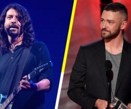 Justin Timberlake será el invitado especial en el nuevo disco de Foo Fighters.