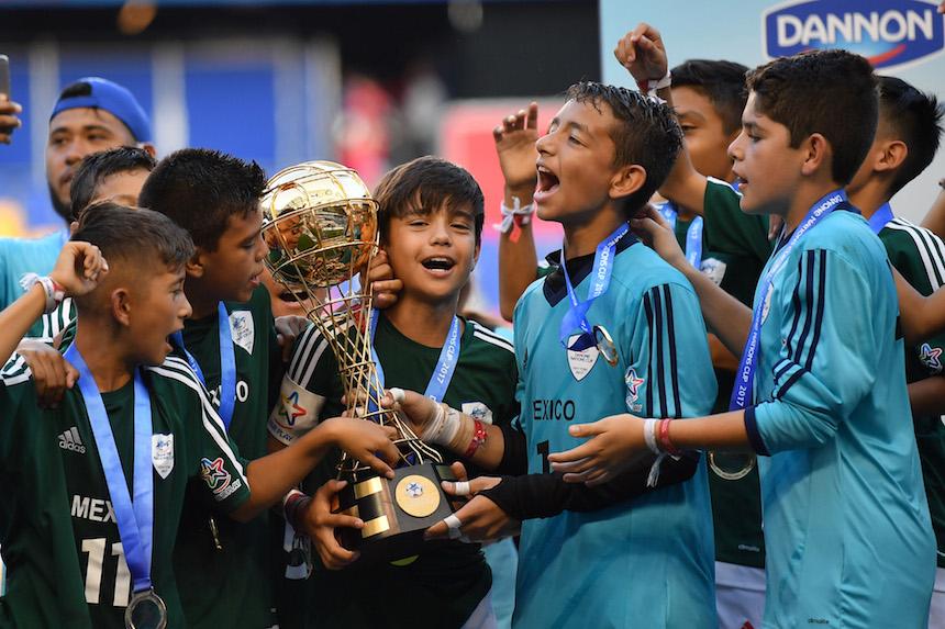 México se corona Campeón de la Copa Danone