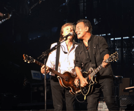 Paul McCartney y Bruce Springsteen