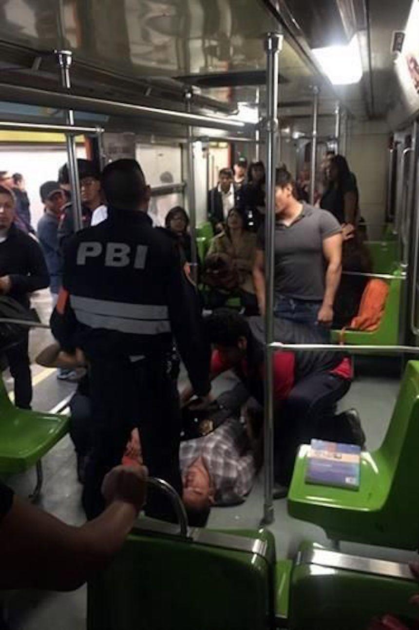 Riña en el Metro de la CDMX