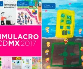cartel simulacro 2017