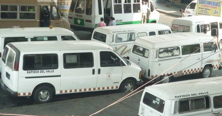 transporte público en Edomex