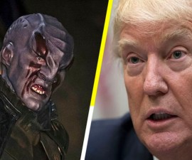 Star Trek - Influencia de Donald Trump