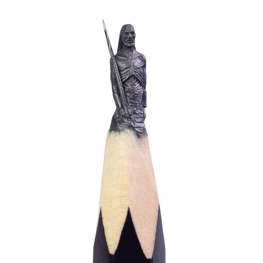 Esculturas de Game of Thrones - White Walker