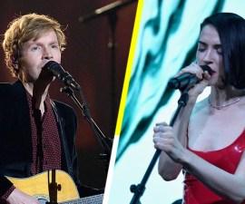 Beck y St. Vincent tocaron sus nuevas canciones en el show de Jools Holland