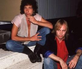 """""""Estoy en shock"""": Bob Dylan envía mensaje tras la muerte de Tom Petty"""