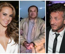 Chapo, Kate y Sean Penn
