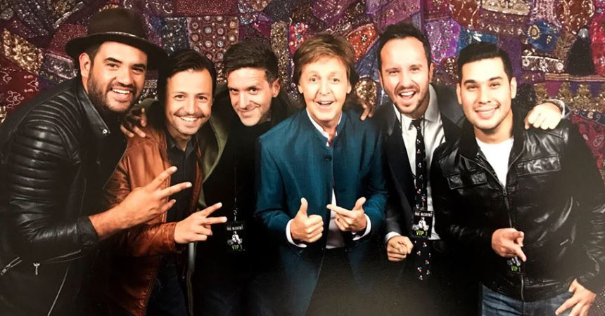 ¡Los Claxons y Paul McCartney juntos por una causa!