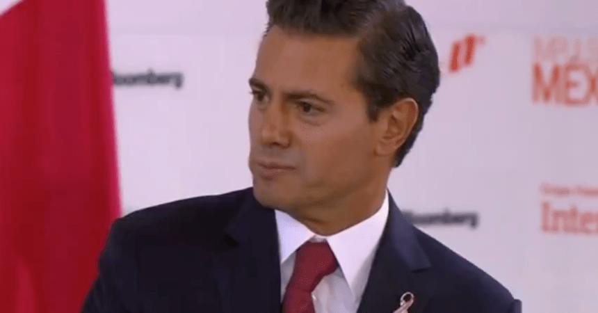Enrique Peña Nieto dice que le queremos echar la culpa de todo a la corrupción