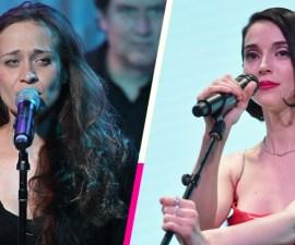 Mira a Fiona Apple y St. Vincent cantar juntas en el Trans-Pecos Festival