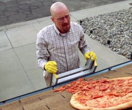 Breaking Bad - Escena de la pizza
