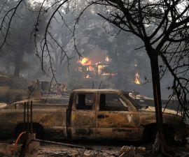 California, incendio