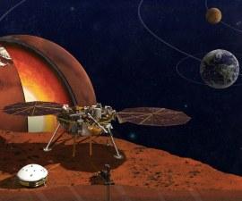 InSight Mars Lander - Portada