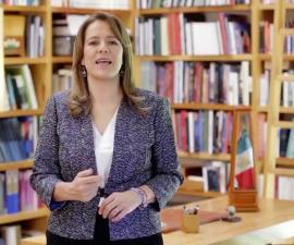 Margarita Zavala, exprimera dama