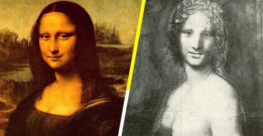 El posible desnudo de la Mona Lisa
