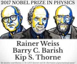Ganadores Premio Nobel Física 2017