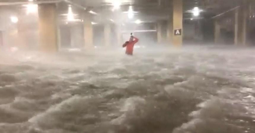 Los sujetos que persiguen huracanes