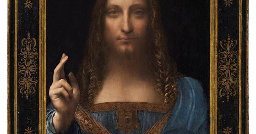 El Salvador Mundi - Leonardo da Vinci