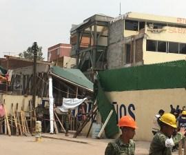 Así quedó el Colegio Rébsamen tras el sismo