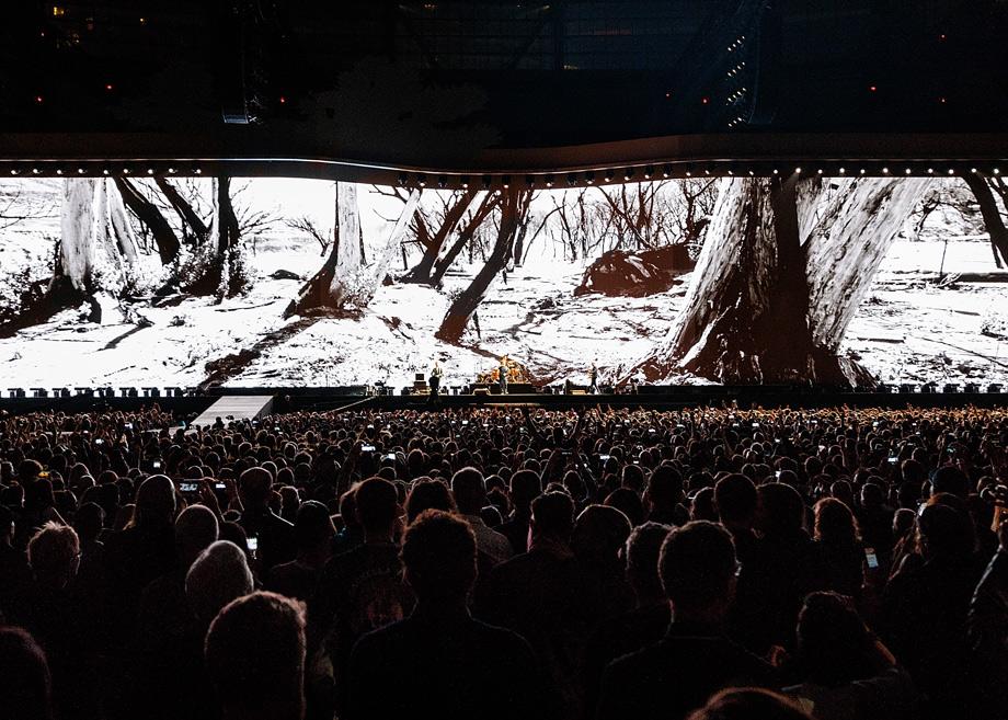 U2 canta