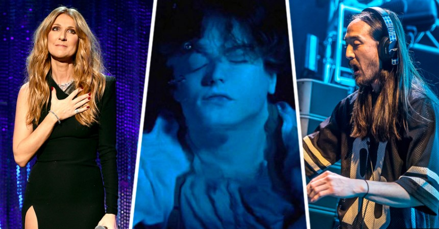 "Céline Dion baila el remix de Steve Aoki a ""My Heart Will Go On"" y Jack se murió (otra vez)"