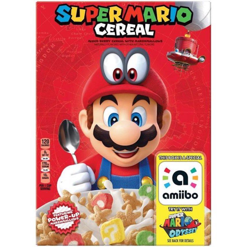 Cereal de Super Mario