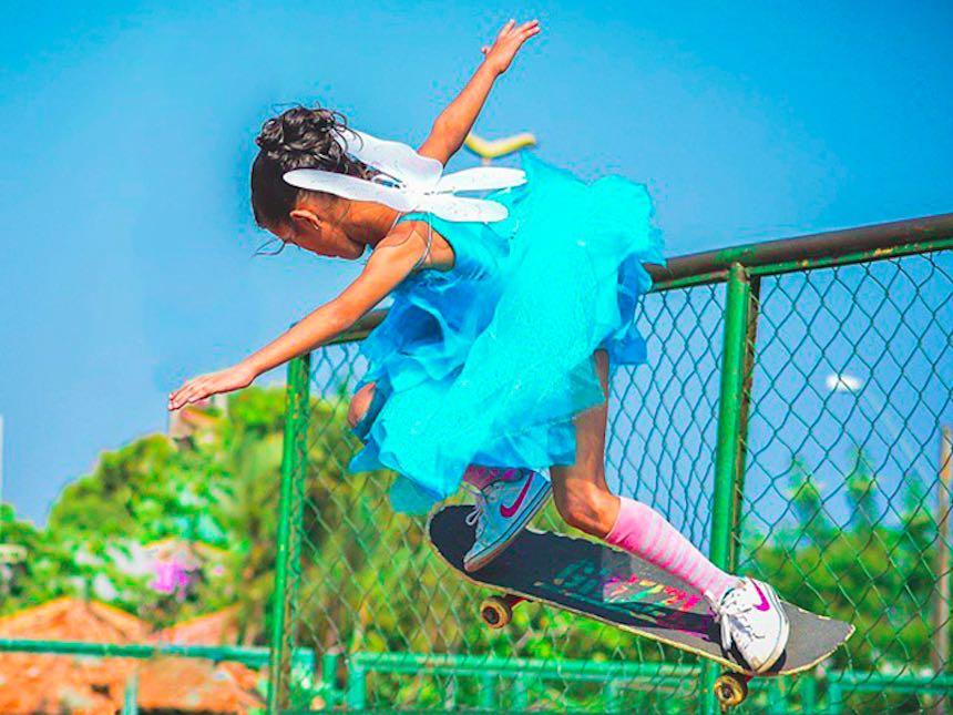 Rayssa Leal - Niña skateboarder