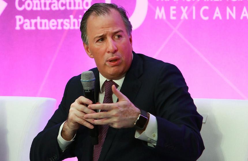 José Antonio Meade Kuribreña, candidato del PRI a la presidencia