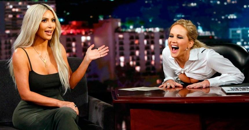 Jennifer Lawrence le preguntó a Kim Kardashian todo lo que siempre quisiste saber