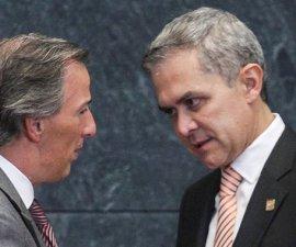 José Antonio Meade y Miguel Ángel Mancera