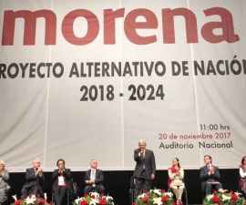 Presentación Proyecto de Nación / AMLO