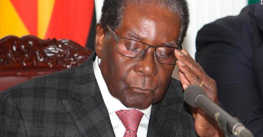 Expresidente de Zimbabue, Robert Mugabe