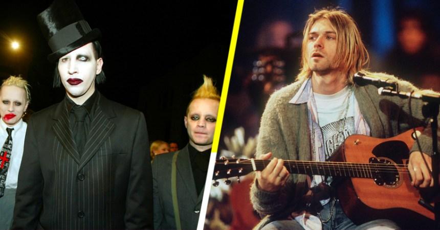 """Ex tecladista de Marilyn Manson dijo que Kurt Cobain debería """"arder en el infierno"""" por """"ladrón"""""""