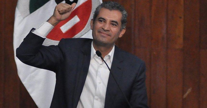 Enrique Ochoa Reza, dirigente nacional del PRI