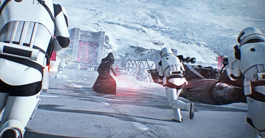 Mira el nuevo adelanto live-action de Star Wars Battlefront II