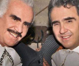 Vicete Fernández padre e hijo