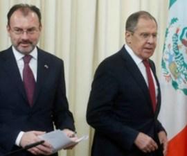 Videgaray y Lavrov