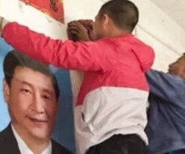 retiro de imágenes religiosas en China