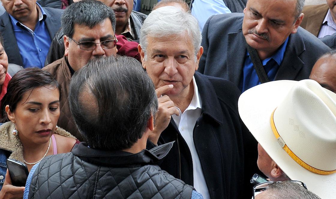 Andrés Manuel López Obrador, candidato presidencial de Morena