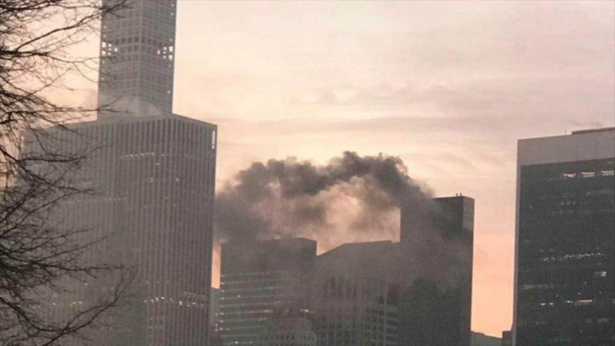 Incendio en la Trump Tower de Nueva York