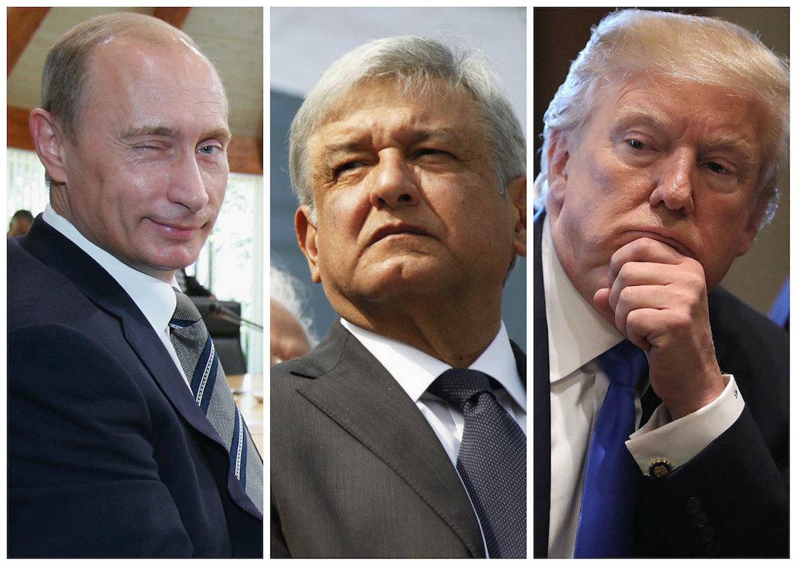 ¿Putin y Trump están impulsando (inesperadamente) candidatura de AMLO?