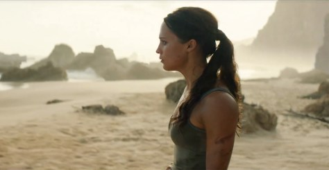 Alicia Vikander in de nieuwe Tomb Raider