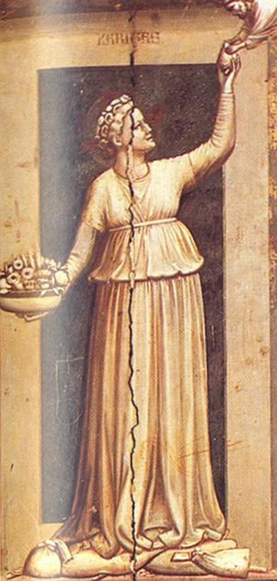 epresentación del corazón de Giotto di Bondone