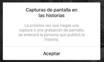 [13:56, 8/2/2018] Pepe Life: ¡Atención stalkers! Instagram le va a avisar a tu 'innombrable' cuando tomes un screenshot