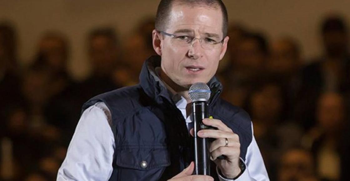 El candidato de Por México al Frente, Ricardo Anaya