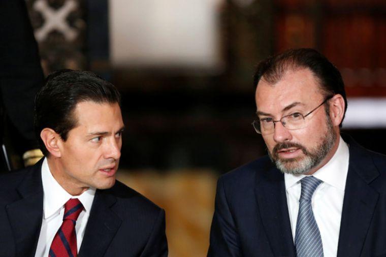 EPN y Luis Videgaray