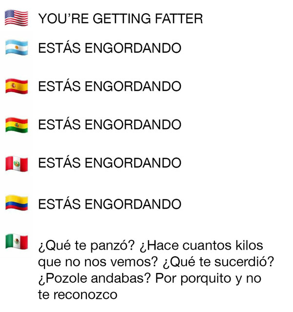Frases que usan los mexicanos