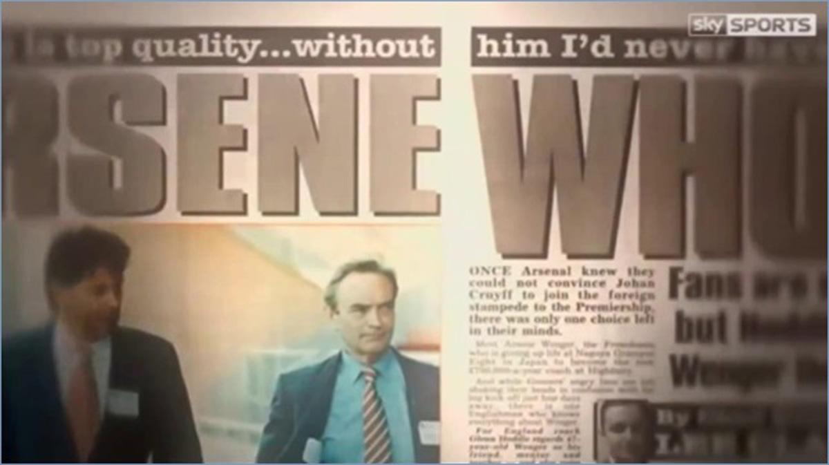 Arsene Who Arsenal 1996