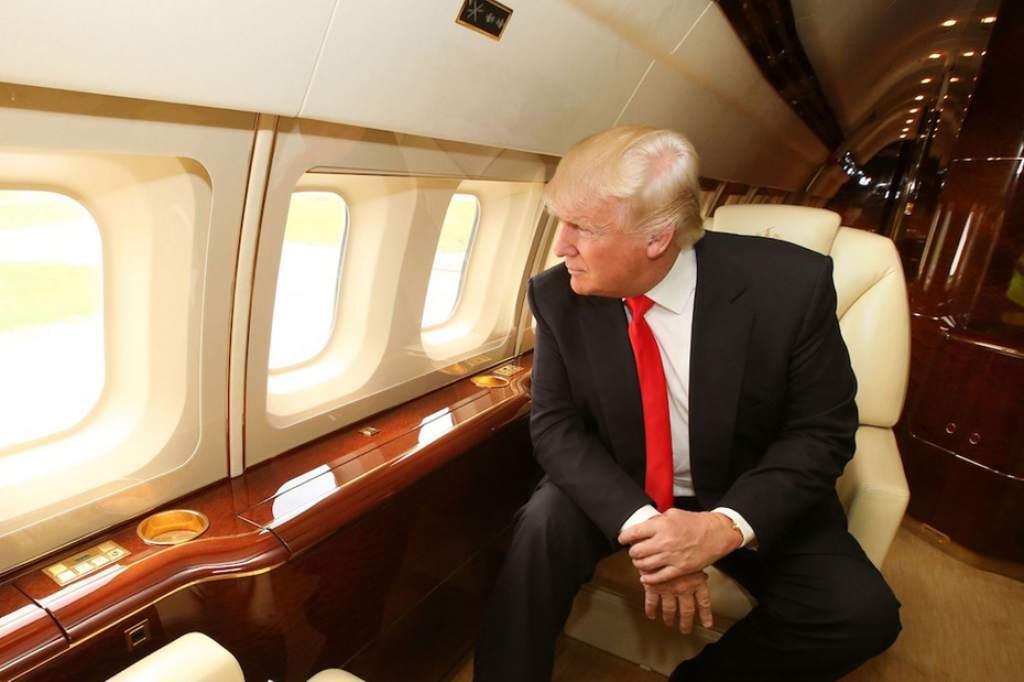 Donald Trump avión presidencial