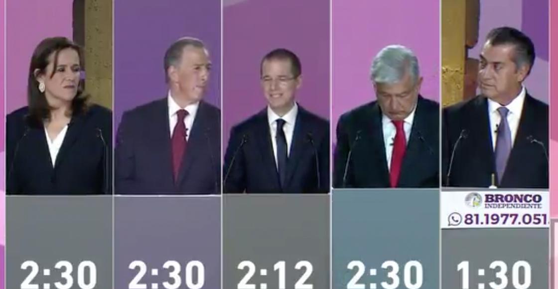 Con peras y manzanas: el primer debate presidencial